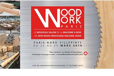 Woodwork paris un nouveau salon de la machine bois for Salon du bois paris